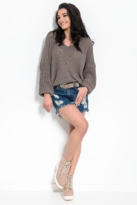 Sweter I320 cappuccino
